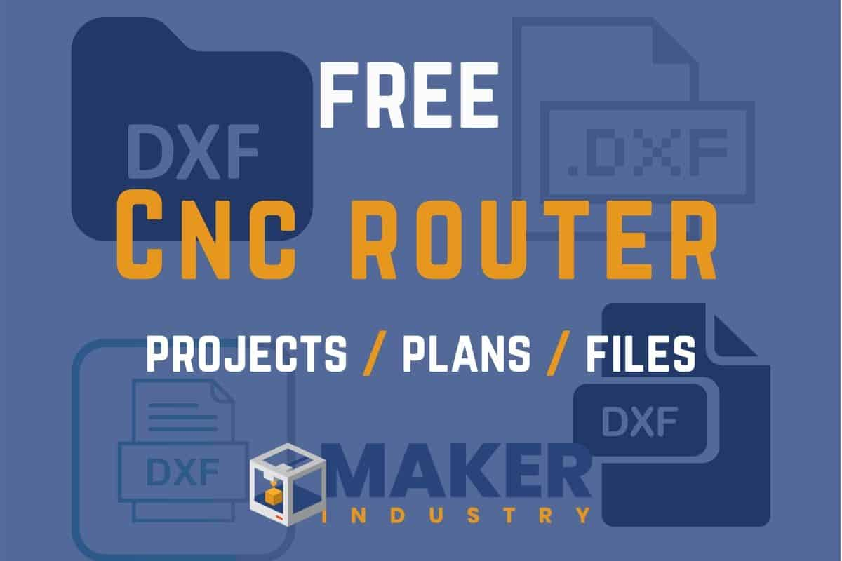 free cnc router files projects