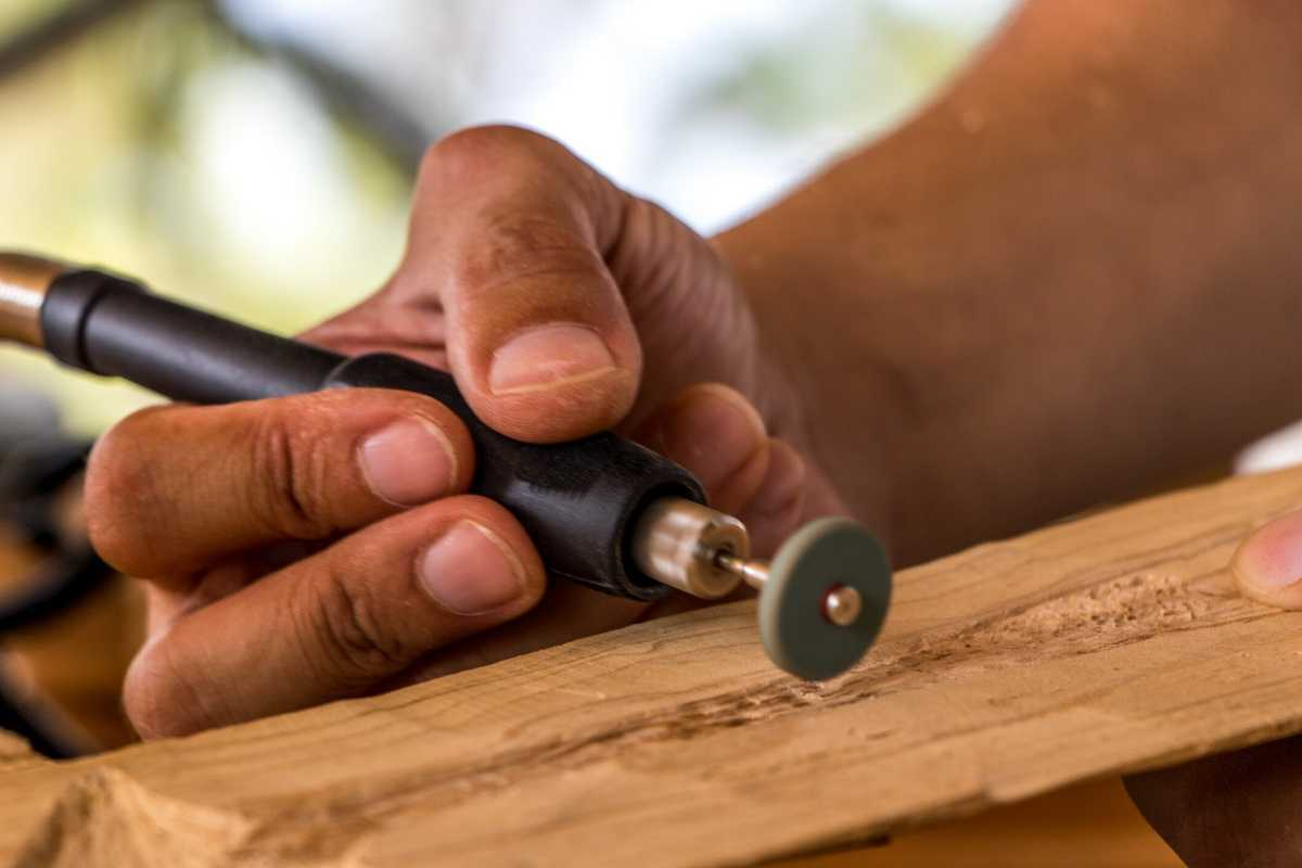 wood carving power tool